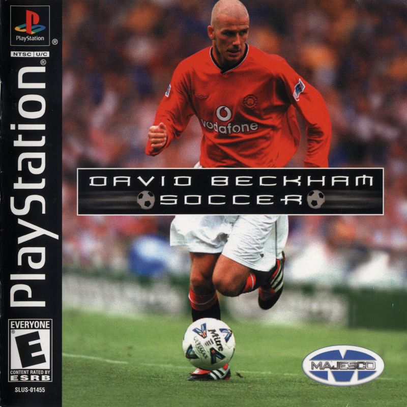 David Beckham Soccer PlayStation Front Cover