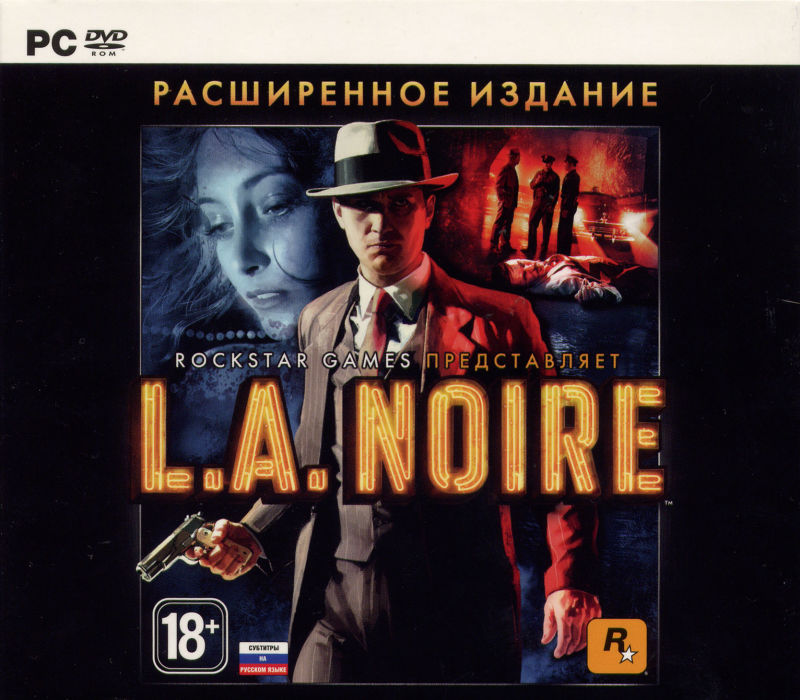 L.A. Noire: The Complete Edition Windows Front Cover