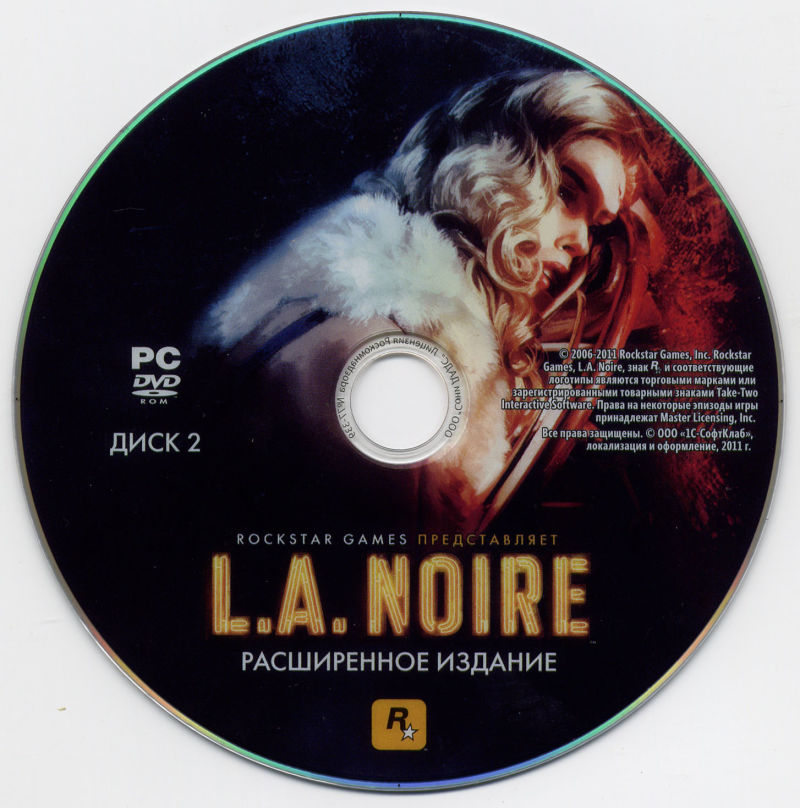 L.A. Noire: The Complete Edition Windows Media Disc 2/2