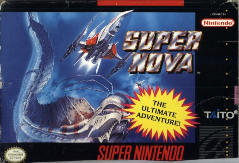 Super Nova SNES Front Cover
