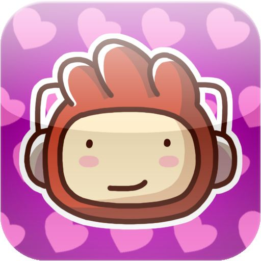 Scribblenauts Remix iPad Front Cover Changed cover for Valentine's Day 2012
