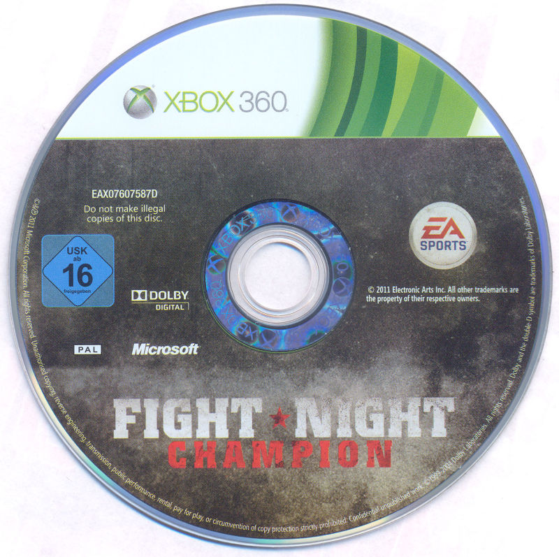 Fight Night Champion Xbox 360 Media