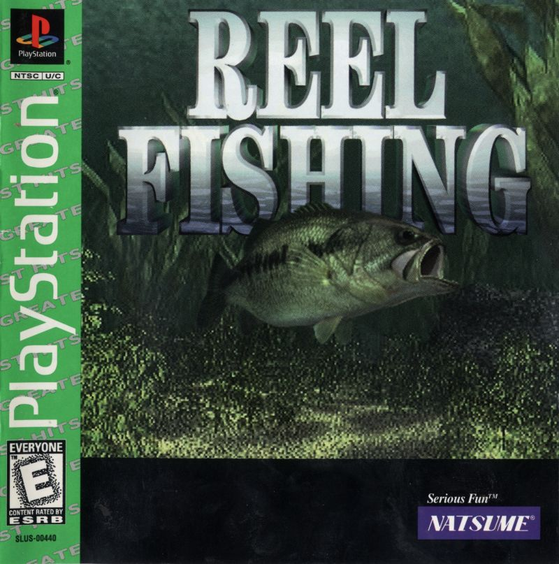 Reel Fishing 1996 Playstation Box Cover Art Mobygames