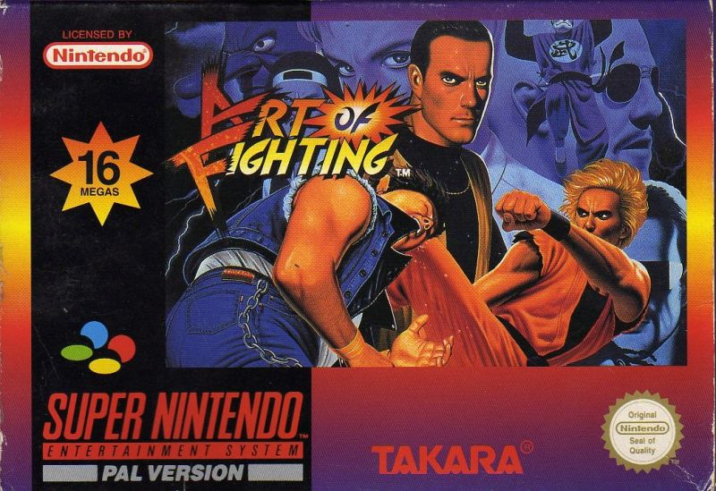 Art Of Fighting 1993 Snes Review Mobygames