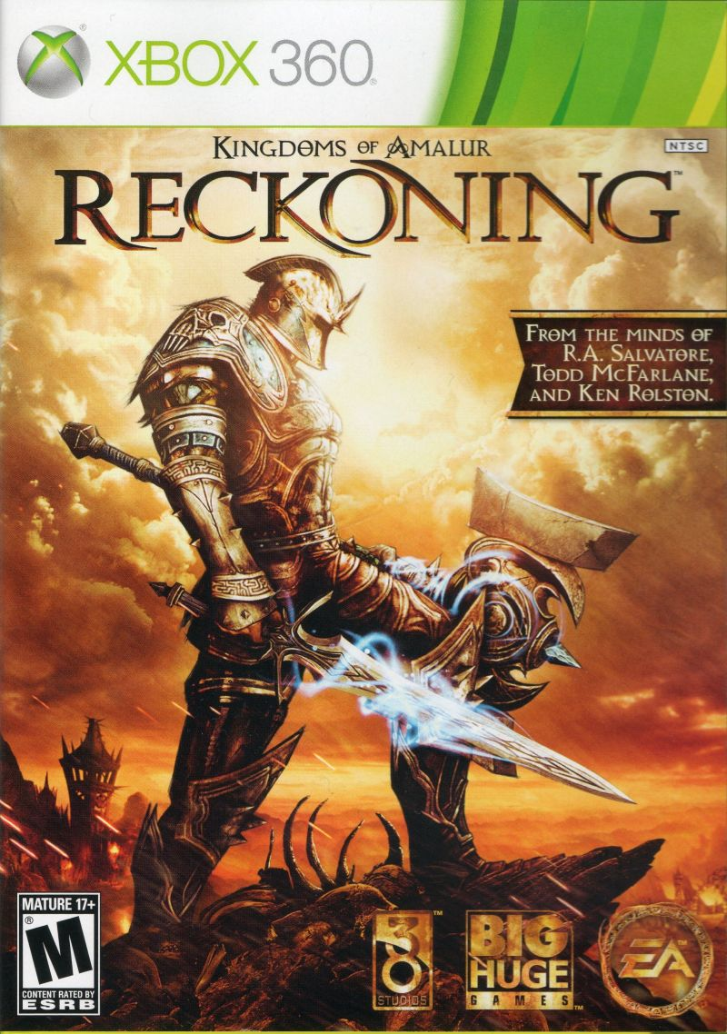Kingdoms of Amalur: Reckoning (Special Edition) Xbox 360 Other Keep Case - Front