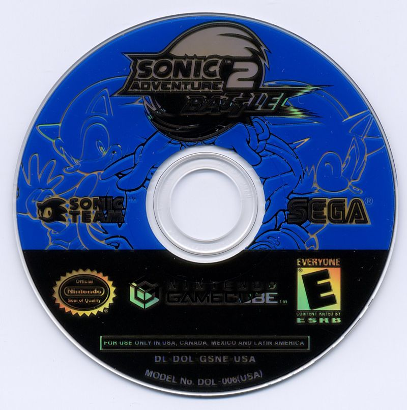 Sonic Adventure 2: Battle GameCube Media