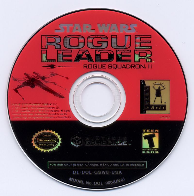 Star Wars: Rogue Squadron II - Rogue Leader GameCube Media