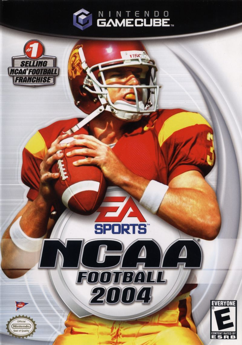 NCAA Football 2004 GameCube Front Cover