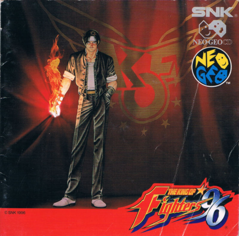 The King of Fighters '96 Neo Geo CD Front Cover