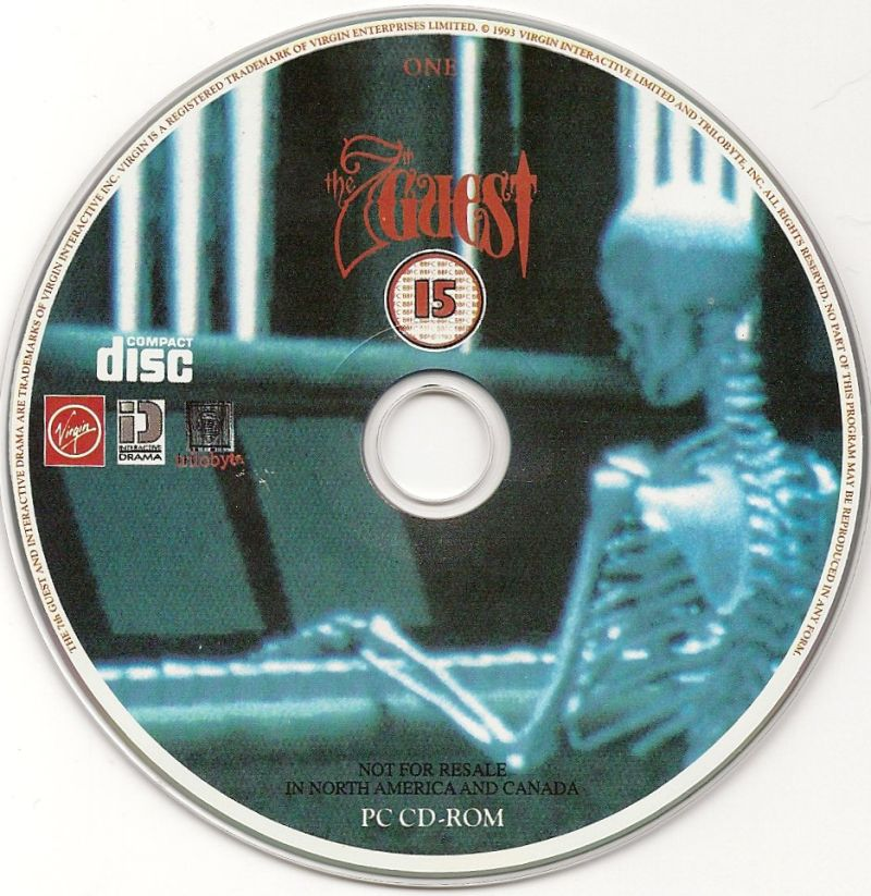 The 7th Guest DOS Media Disc 1