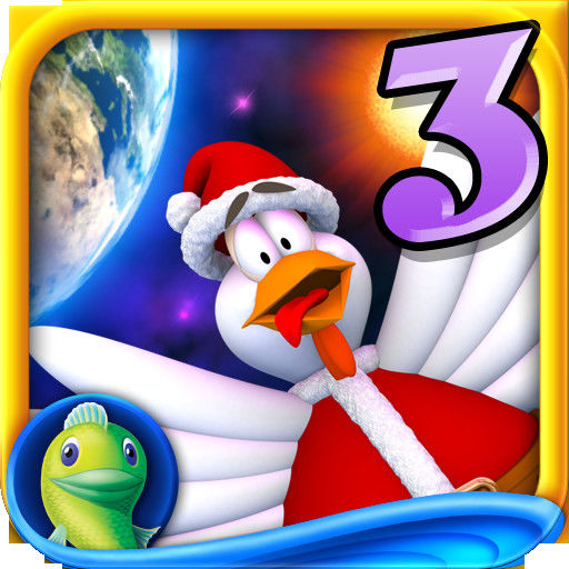 Chicken Invaders: Revenge of the Yolk - Christmas Edition iPad Front Cover