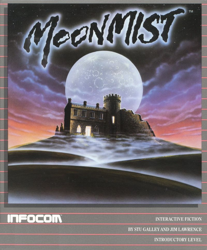 Moonmist DOS Front Cover