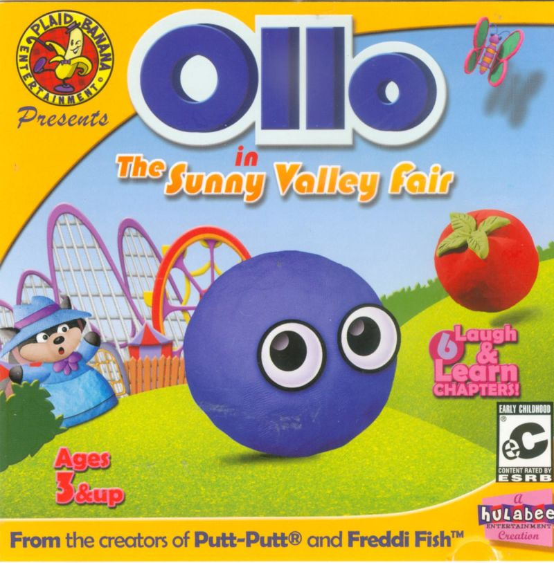 Ollo in the Sunny Valley Fair Macintosh Front Cover