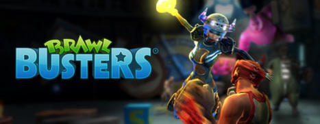 Brawl Busters Windows Front Cover