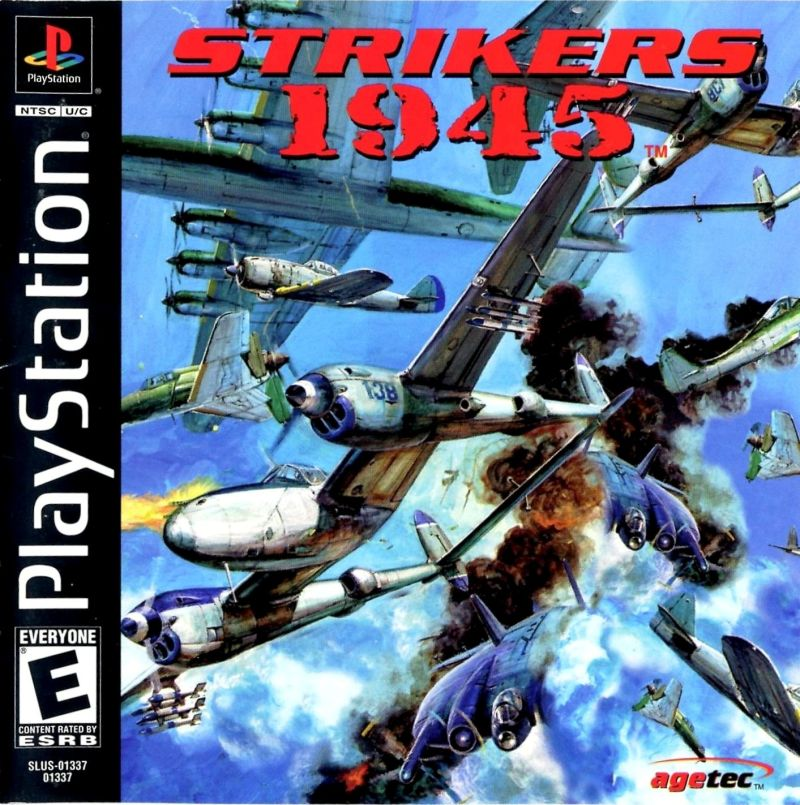 Strikers 1945 PlayStation Front Cover
