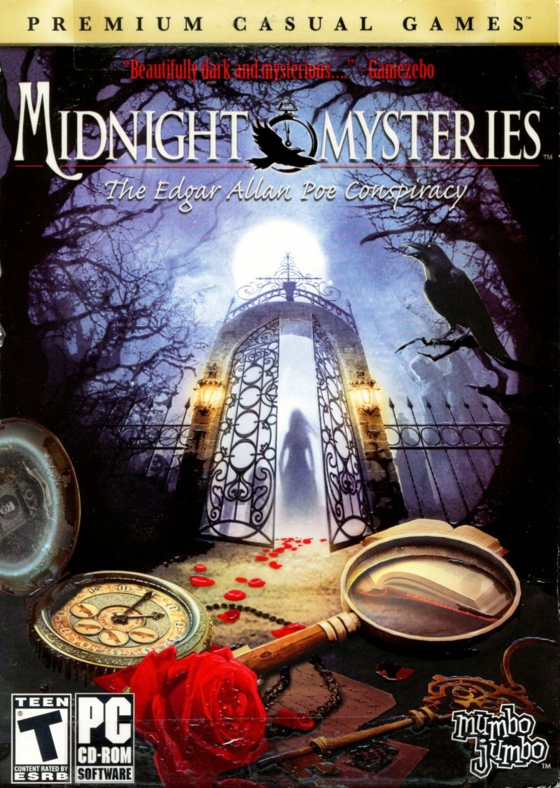 Midnight Mysteries: The Edgar Allan Poe Conspiracy Windows Front Cover