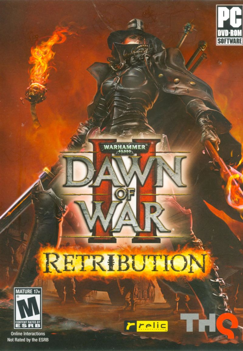Warhammer 40,000: Dawn of War II - Retribution Windows Front Cover