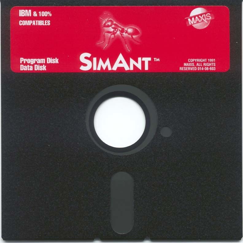 SimAnt: The Electronic Ant Colony DOS Media