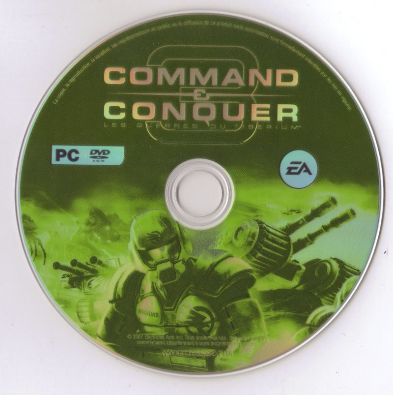 Command & Conquer 3: Tiberium Wars Windows Media