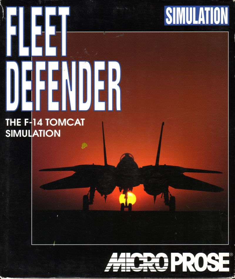 Fleet Defender DOS Front Cover