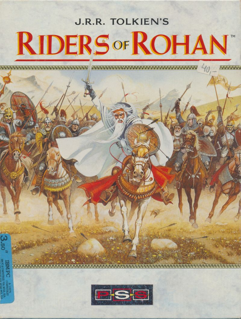 J.R.R. Tolkien's Riders of Rohan DOS Front Cover