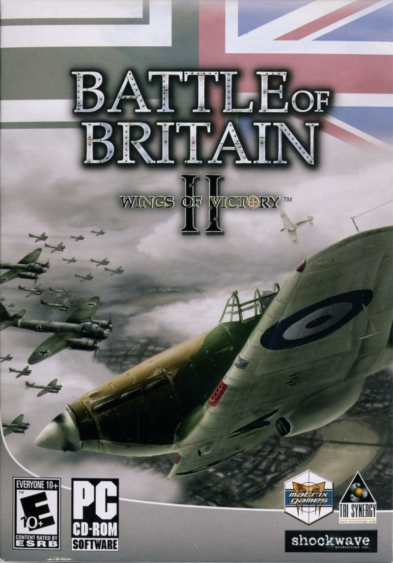 Battle of Britain II: Wings of Victory Windows Front Cover