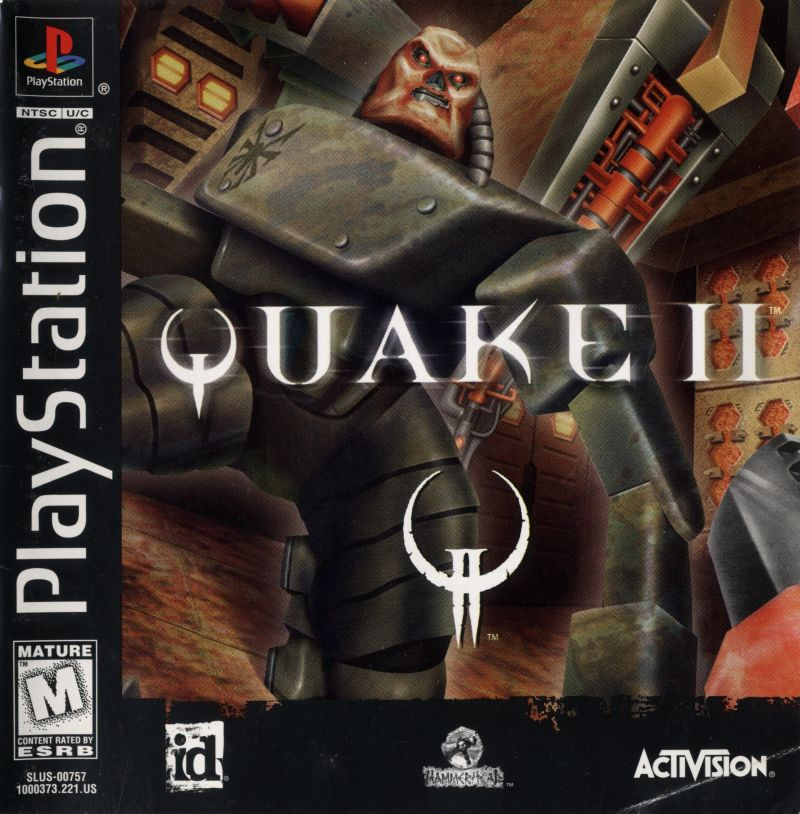 Quake II PlayStation Front Cover