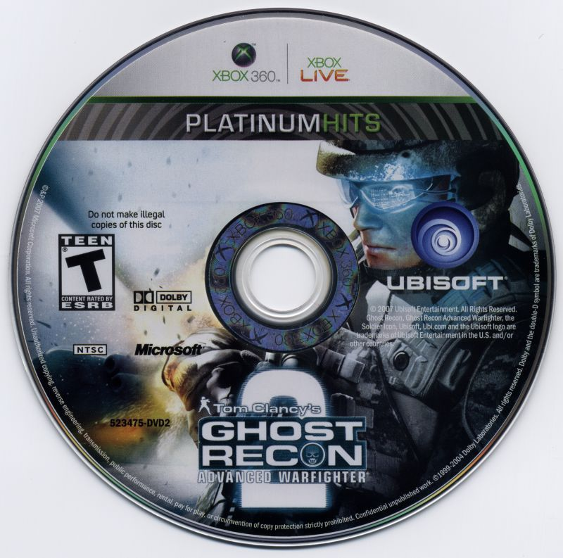 Tom Clancy's Ghost Recon: Advanced Warfighter 2 Xbox 360 Media