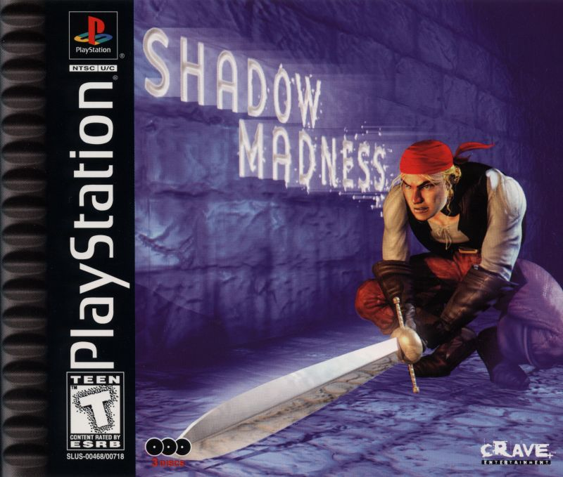 Shadow Madness PlayStation Front Cover