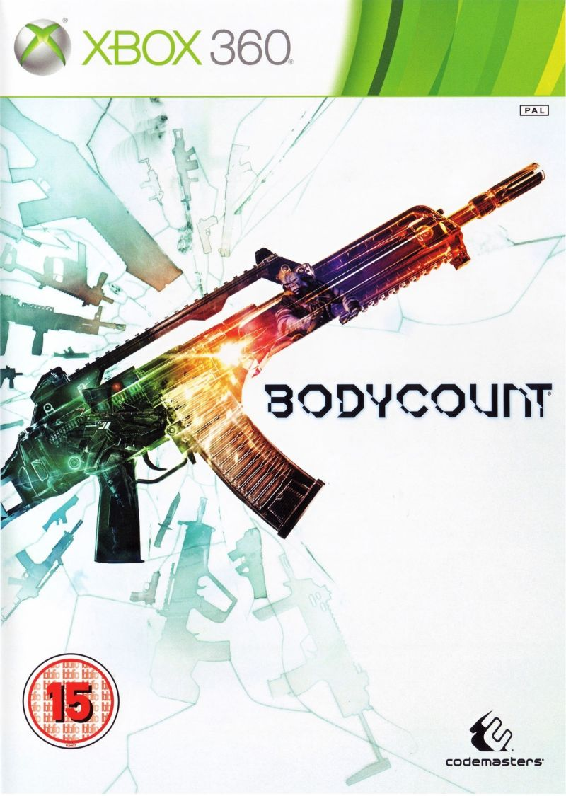Bodycount Xbox 360 Front Cover