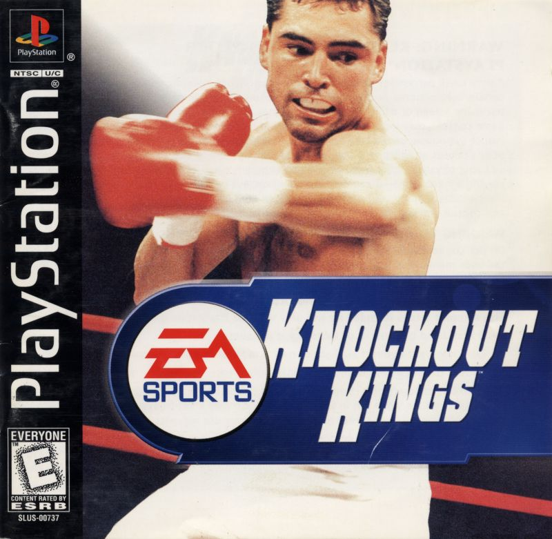 Knockout Kings PlayStation Front Cover