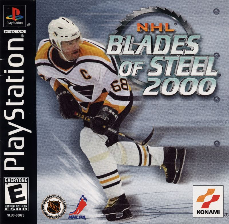 NHL Blades of Steel 2000 PlayStation Front Cover