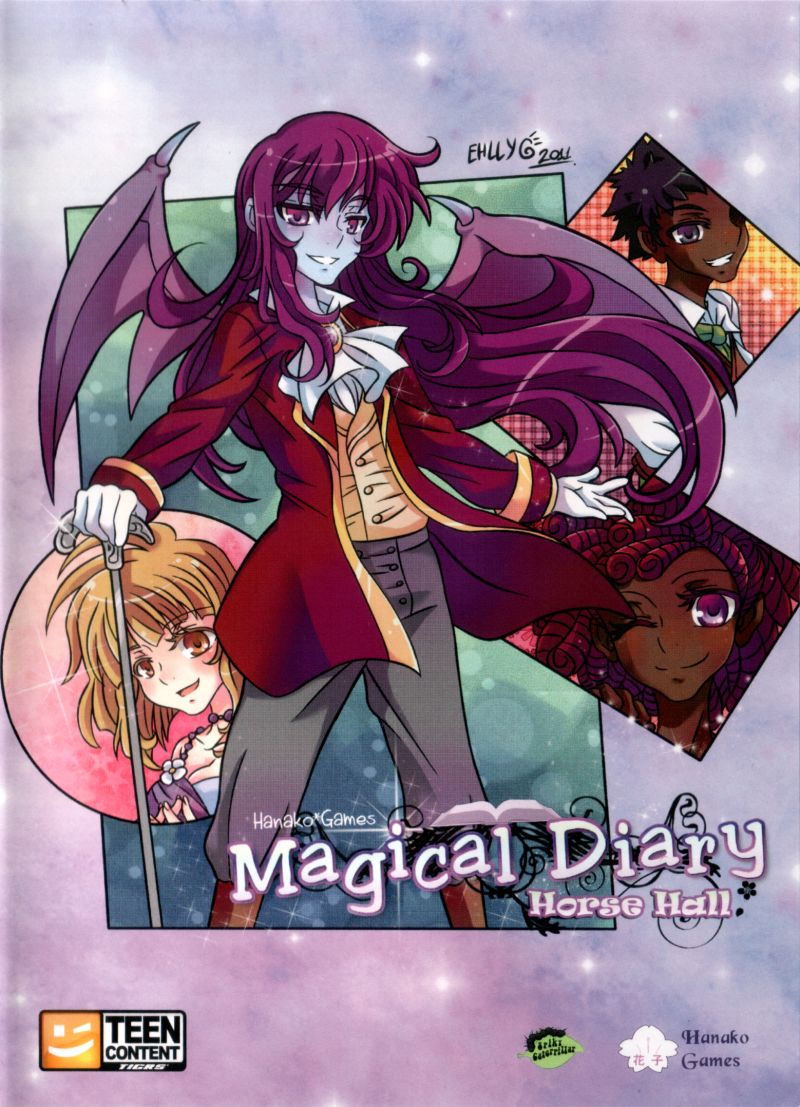 Magical Diary: Horse Hall Linux Front Cover