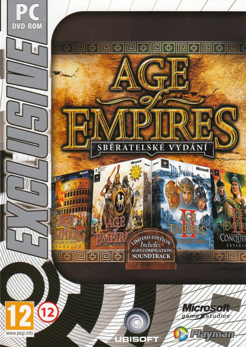 Age of Empires: Collector's Edition Windows Front Cover