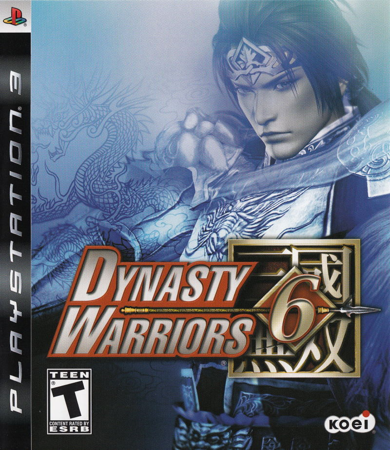 Dynasty Warriors 6 PlayStation 3 Front Cover
