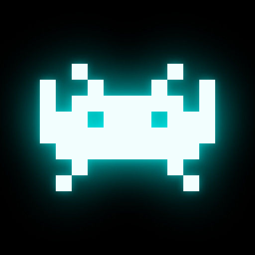 Space Invaders iPad Front Cover