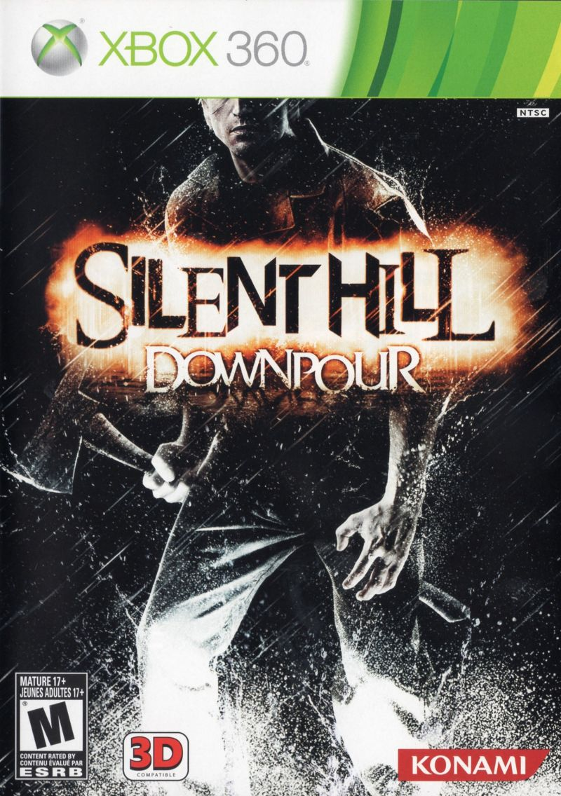 Silent Hill: Downpour Xbox 360 Front Cover