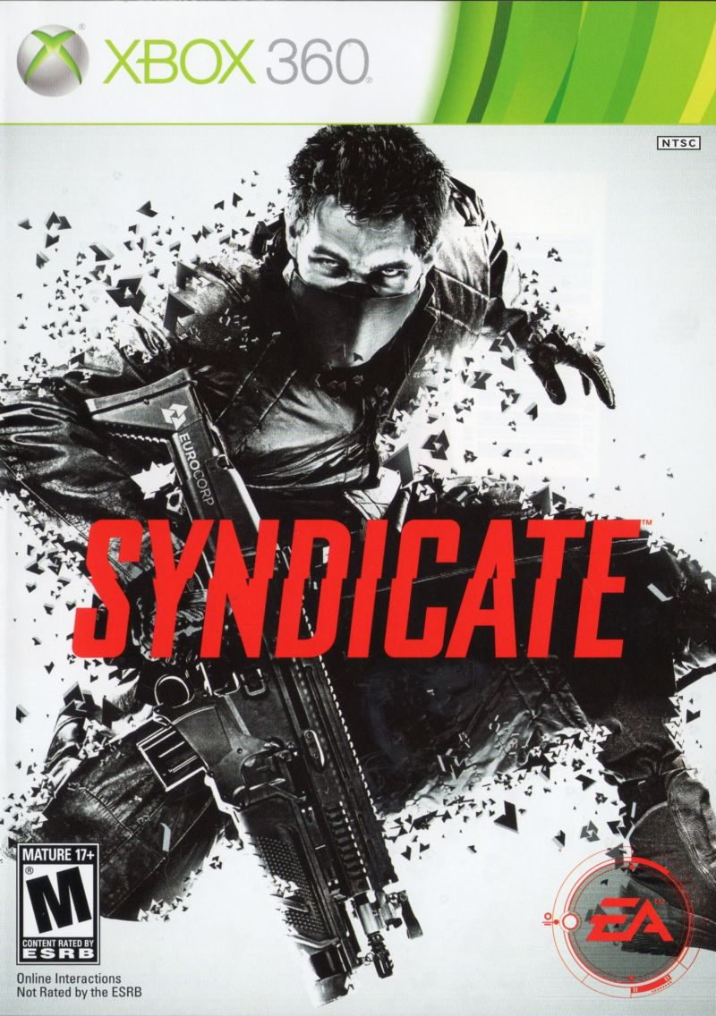 Syndicate Xbox 360 Front Cover