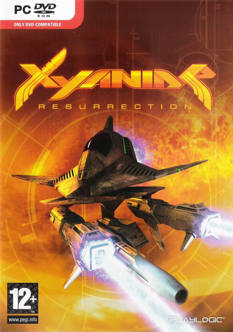 Xyanide: Resurrection Windows Front Cover