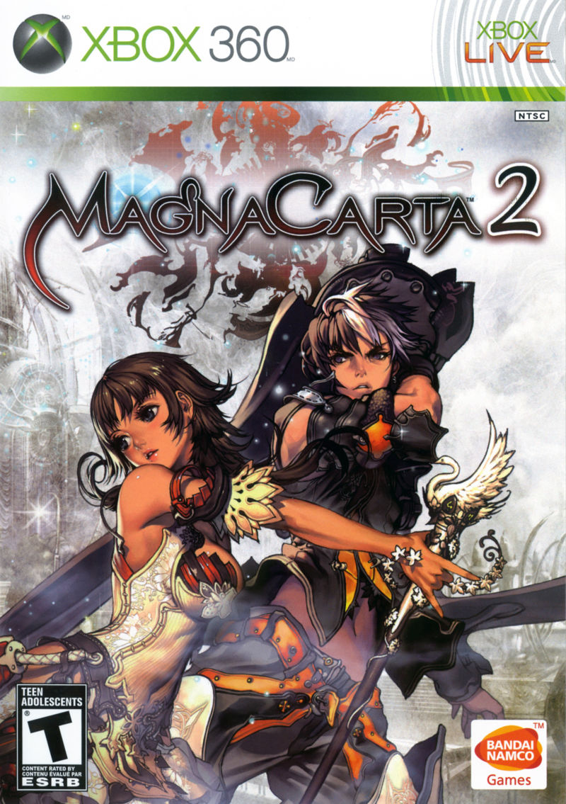 Magna Carta 2 Xbox 360 Front Cover