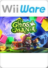 Ghost Mania Wii Front Cover