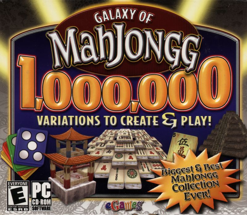 Galaxy of Mahjongg Windows Front Cover