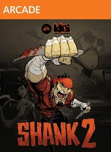 Shank 2 Xbox 360 Front Cover