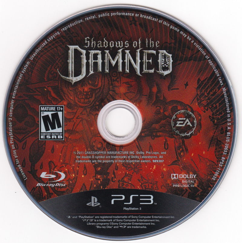 Shadows of the Damned PlayStation 3 Media