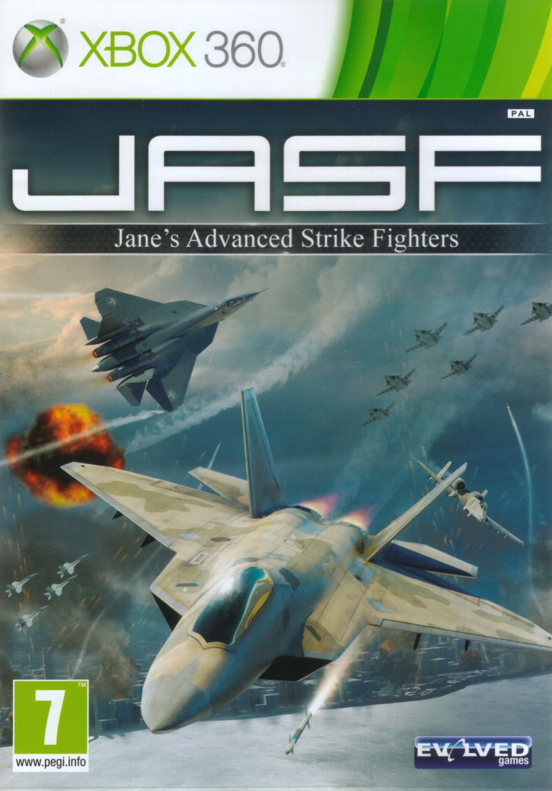 JASF: Jane's Advanced Strike Fighters Xbox 360 Front Cover