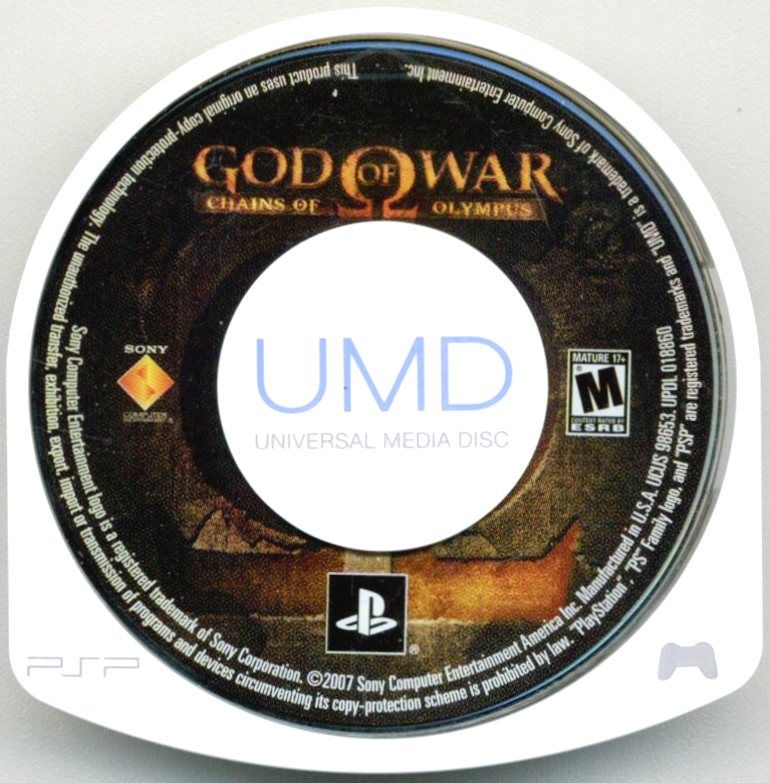 God of War: Chains of Olympus (2011) PlayStation 3 box cover art