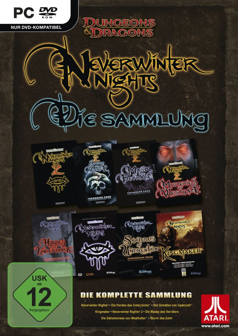 Neverwinter Nights: The Complete Collection Windows Front Cover