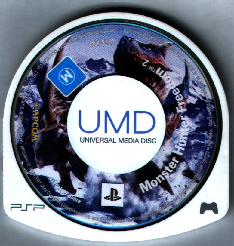 Monster Hunter Freedom 2 PSP Media