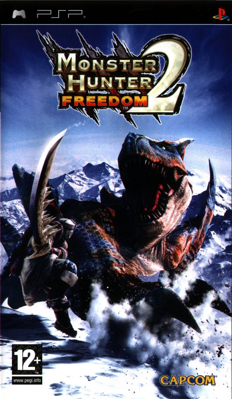 Monster Hunter: Freedom 2 PSP Front Cover