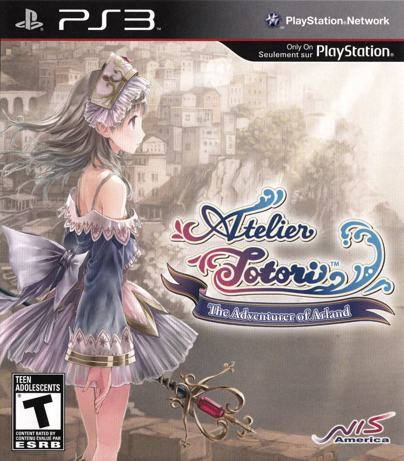 Atelier Totori: The Adventurer of Arland PlayStation 3 Front Cover